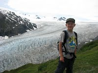 On the Harding Icefield Trail, above Exit Glacier